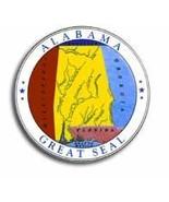 """Alabama - 3.5"""" State Seal - $2.70"""