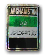 Afghanistan Reflective Decal (old) - $2.70