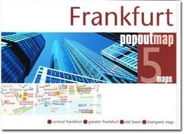 Frankfurt Popout Map - $8.34