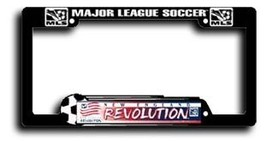 New England Revolution Plastic License Plate Frame - $4.74