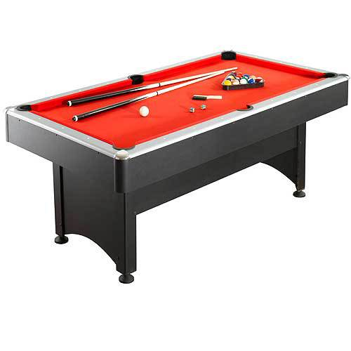 7' Pool Table with Table Tennis