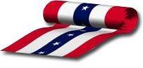 36x15 yards patriotic bunting 9872
