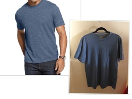 Club Room T-Shirts, Short-Sleeved Blue  Heather Crew Tees, Small - $10.54