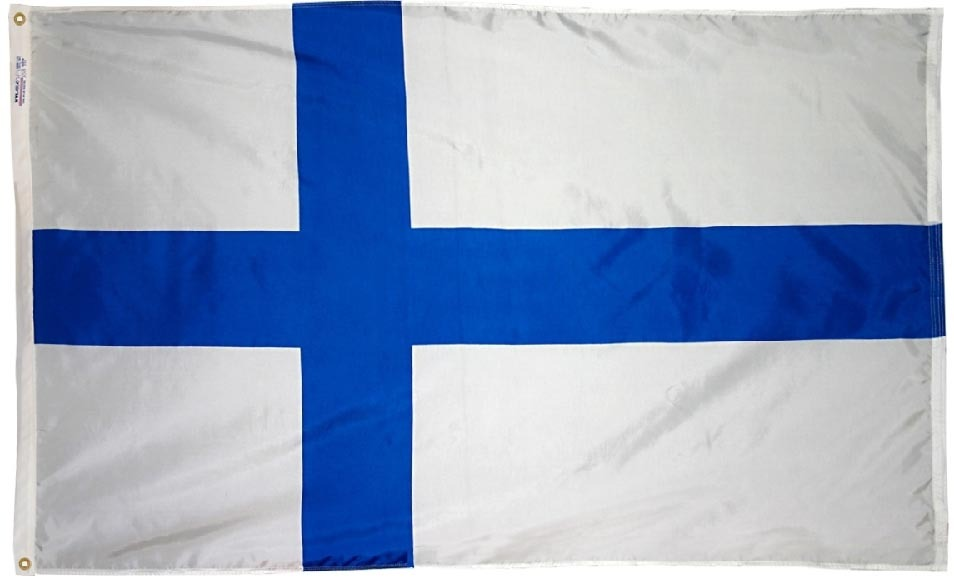 Finland flag 3x5nylon 1