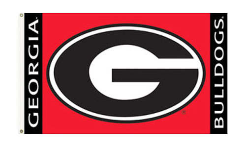 University of Georgia - 3' x 5' NCAA Polyester Flag