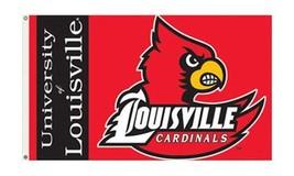 Louisville - 3' x 5' NCAA Polyester Flag - $27.60