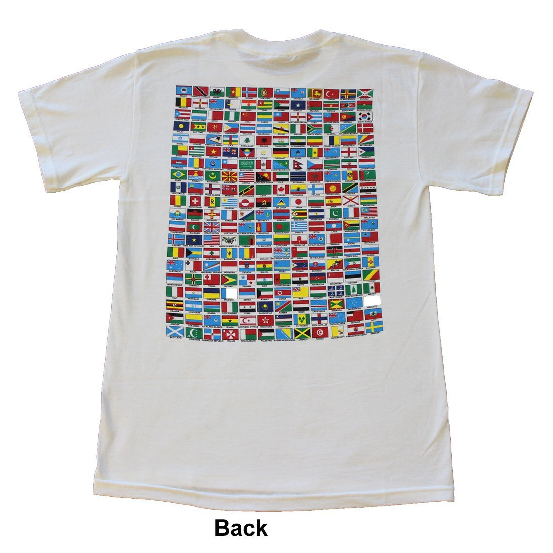 Flags of the World T-Shirt (Style 1) (S)