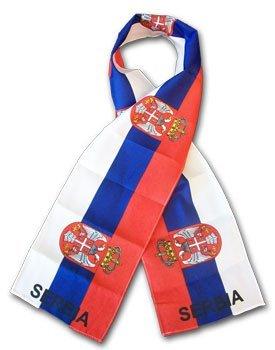 Serbia flag scarf 10524