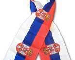 Serbia flag scarf 10524 thumb155 crop