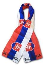 Slovakia Flag Scarf - $11.94