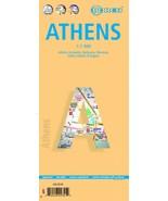 Athens - Laminated Borch City Map - $11.94