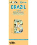Brazil - Laminated Borch Road Map - $15.54