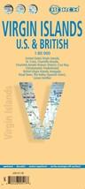 Virgin Islands (U.S. & British) - Laminated Borch Road Map - $14.34