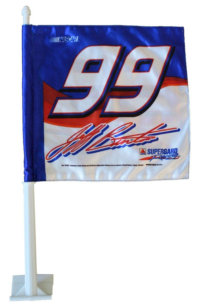 Jeff burton 28blue 29 car flag