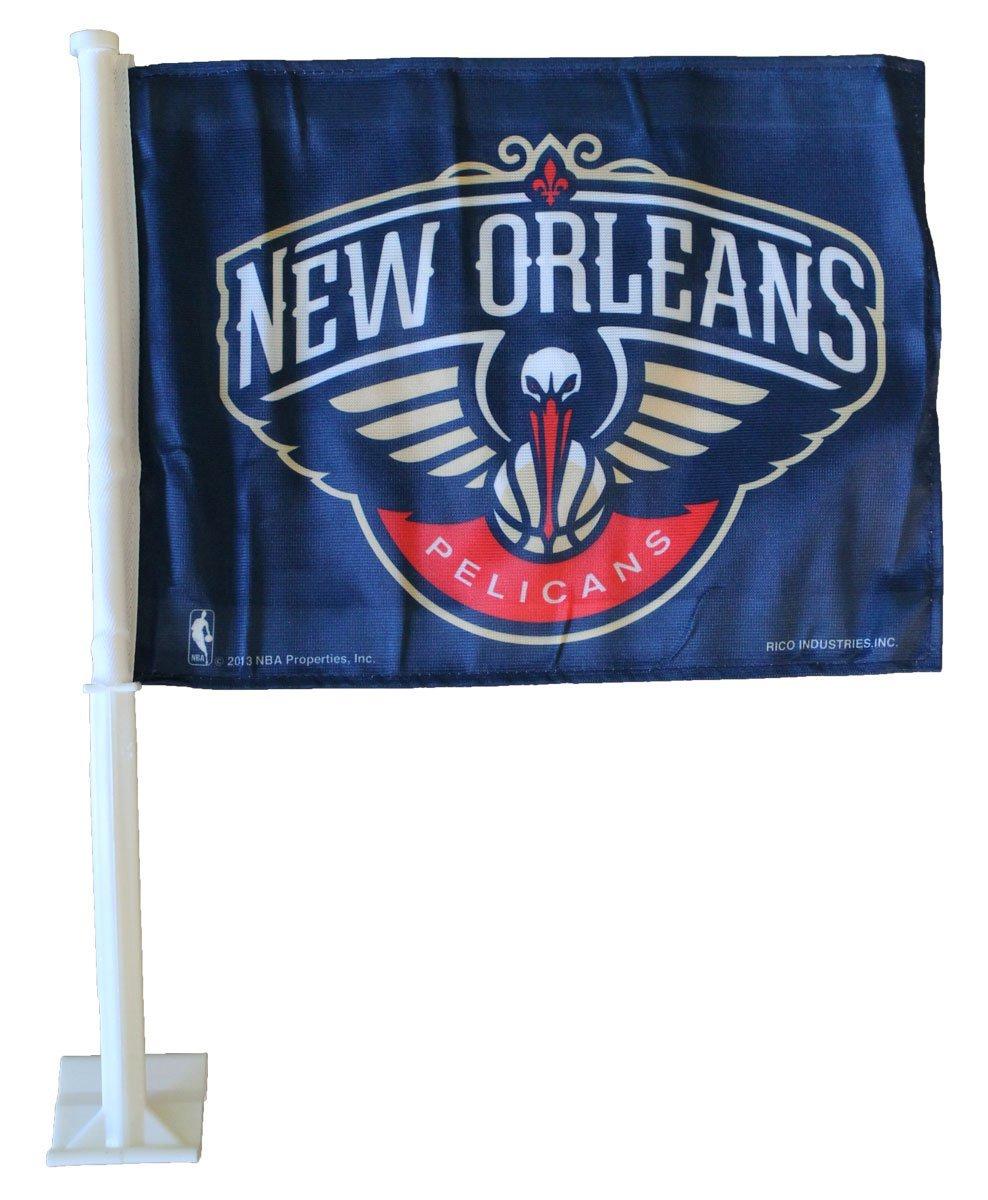 Pelicans car flag