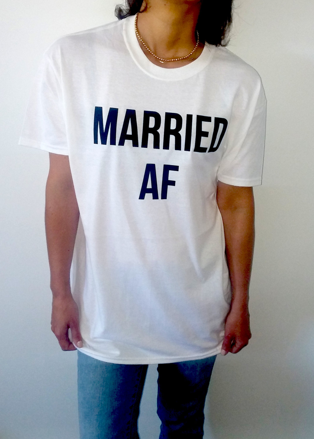 Married Af Unisex T Shirt For Womens Tumblr Tshirt Sassy