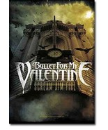 Bullet for My Valentine Textile Poster (Scream Aim Fire) - $18.00