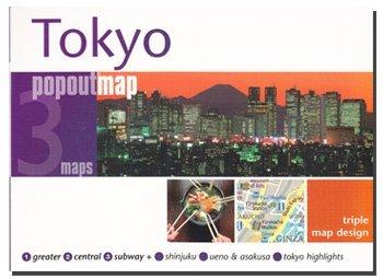 Tokyo popout map 8889