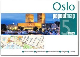 Oslo Popout Map - $8.34