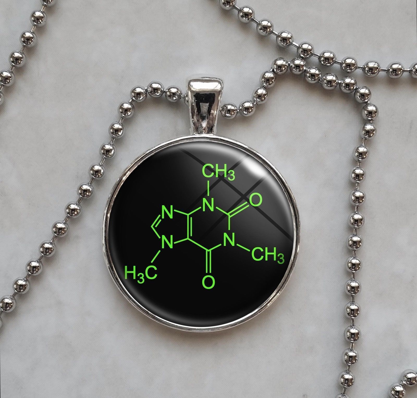 Primary image for Choose A Molecule Science Chemistry Physics Pendant Necklace