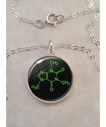 Choose A Molecule Science Chemistry Physics Sterling Silver 925 Pendant Necklace - $30.20 - $49.50