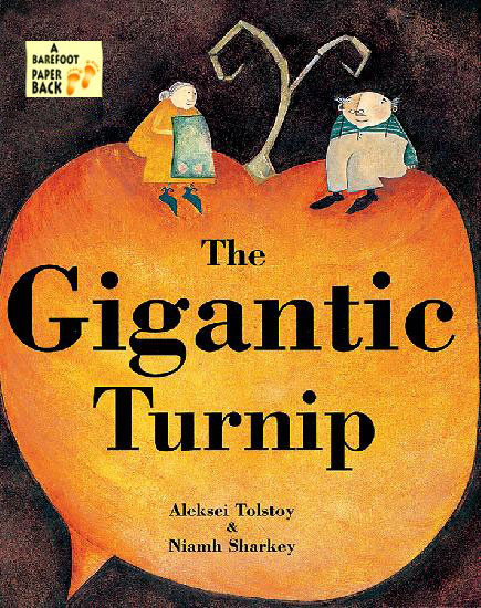 Gigantic Turnip Nesting Doll and Book Set