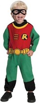 Rubie's Costume Co Baby Boy's Teen Titans Robin Romper Costume, Multi, ... - $19.69