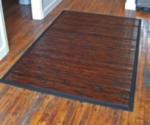 Cobblestone Natural Bamboo Rug 6ft. x 9ft.