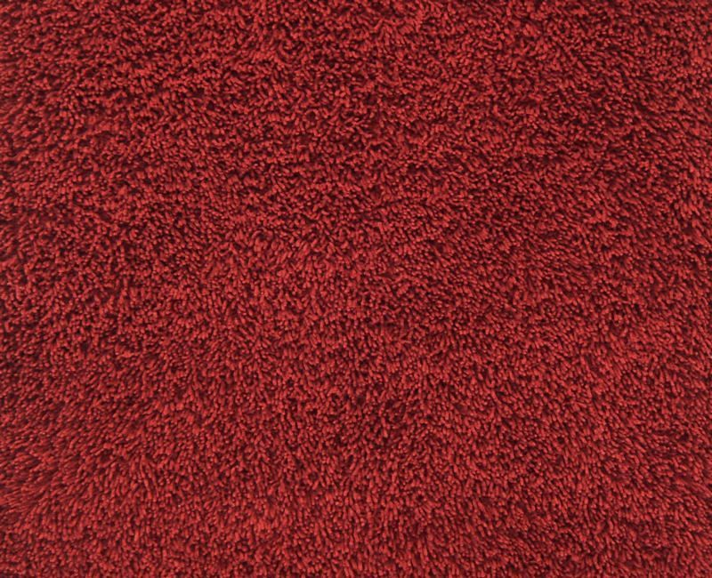 Silky Shag Crimson: 50 percent Cotton, 50 percent Bamboo Rayon 9ft. X 12ft.