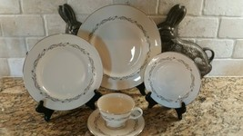 Pickard China USA Windsor Gravy Boat Gray Swirls - $31.67