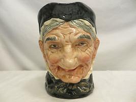 Vintage Large Granny Royal Doulton Toby Mug Tobey Jug Pitcher EC D5521 - $98.99