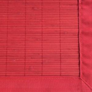 The Villager  Crimson Bamboo Rug 4ft. x 6ft.