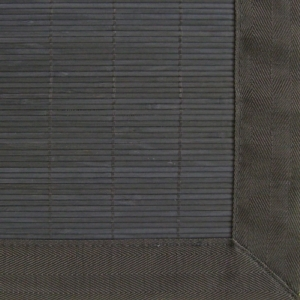 The Villager  Ebony Bamboo Rug 5ft. x 8ft.