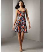 DIANE von FURSTENBERG UMA NORMANDIE BLOOM SUNRISE DRESS  - US 8 - UK 12 - $153.67