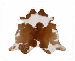 Brown & White  Brazilian Calf Hide - $99.00