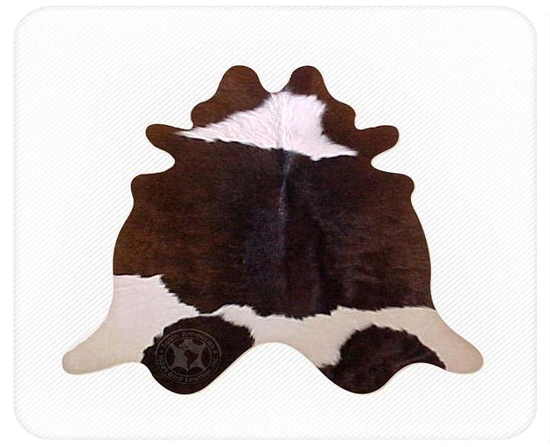 Chocolate white calfskin 1  08240