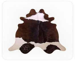 Chocolate Brown & White Brazilian Calf Hide - $99.00