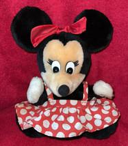 "Vintage Applause Disney Hand Puppet Minnie Mouse 9"" Pretend Play Korea - $11.96"