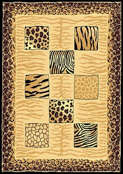 Tiger cheetah skin xl  96954