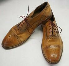 Johnston & Murphy 20-8682 Conard Cap Toe Leather Dress Shoe Men's 9M A17 - $29.90