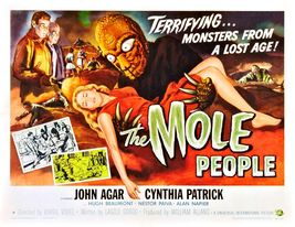 THE MOLE PEOPLE (1956) - Classic Horror B-Movie - Buy 2 DVD's, Get 1 FRE... - $7.49