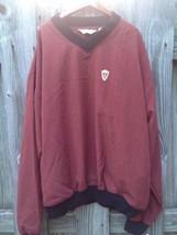 Reebok Golf Men's Large Pull Over Sweatshirt Jacket Coat Long Sleeve Nwt - $23.36