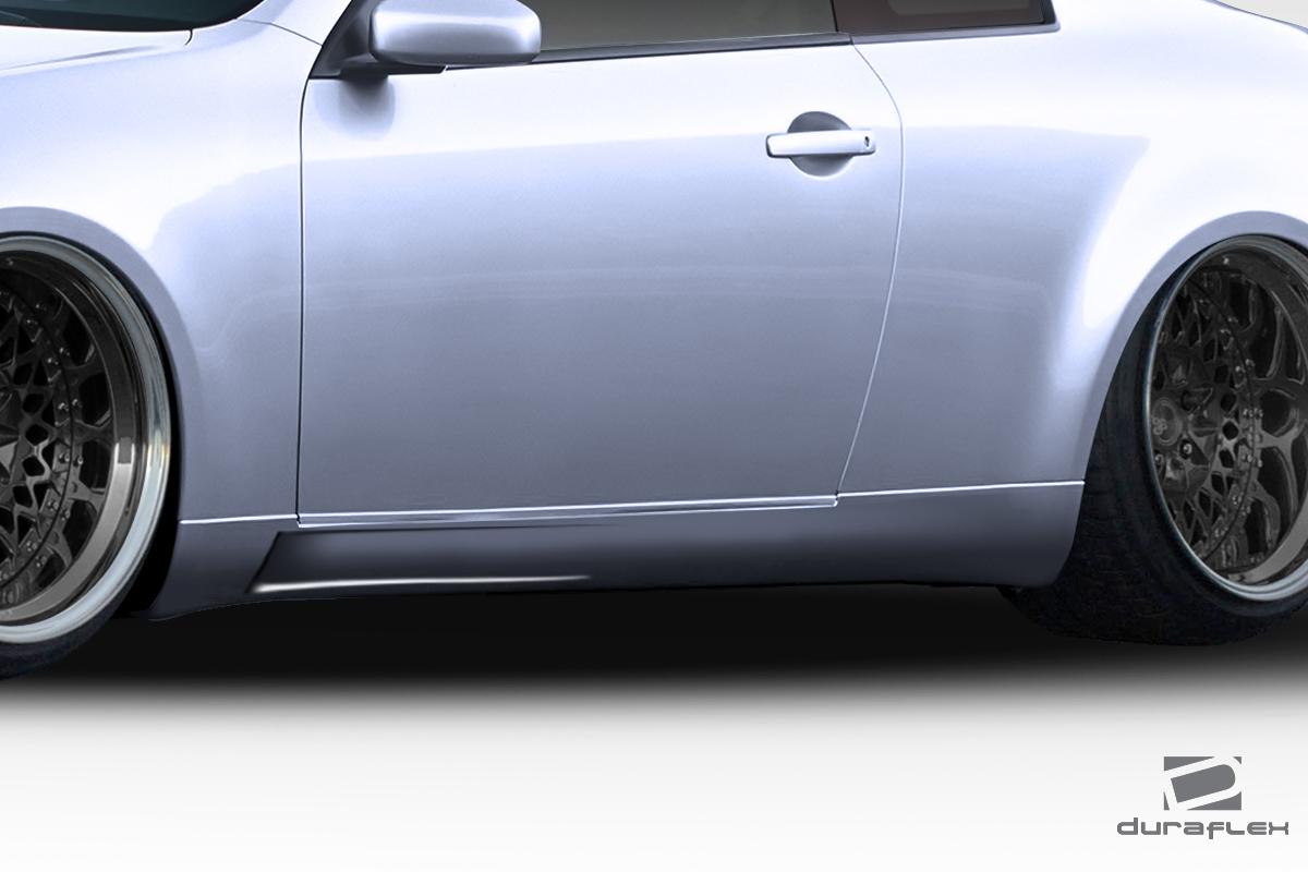03-07 Fits Infiniti G Coupe D-Spec Duraflex Side Skirts Body Kit!!! 112874