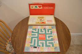 Vintage 1965 Parker Brothers Careers Board Game No. 65 - Complete - $23.95