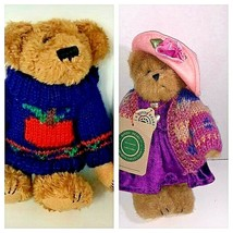 Boyds Bears Lot of 2 The Archive Collection  Dexter & Bailey Bearwear Plush  - $24.75