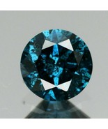 Certified Rare! 0.28ct 4.2mm Round Brilliant Natural Fancy Blue Diamond,... - $305.61