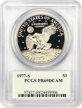 1977-S $1 PCGS PR 69 DCAM (Clad) Eisenhower Dollar - £23.31 GBP