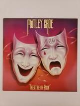 Motley Crue Theatre Of Pain Vinyl LP Record 1985 Original Elektra 60418-... - $111.10