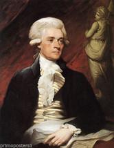 Thomas Jefferson American President Portrait Usa Painting Repro - $10.96+