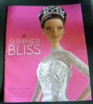 "2007 Barbie Summer Bliss Collection Collectors Catalog - 10""W x 13"" L - $10.00"